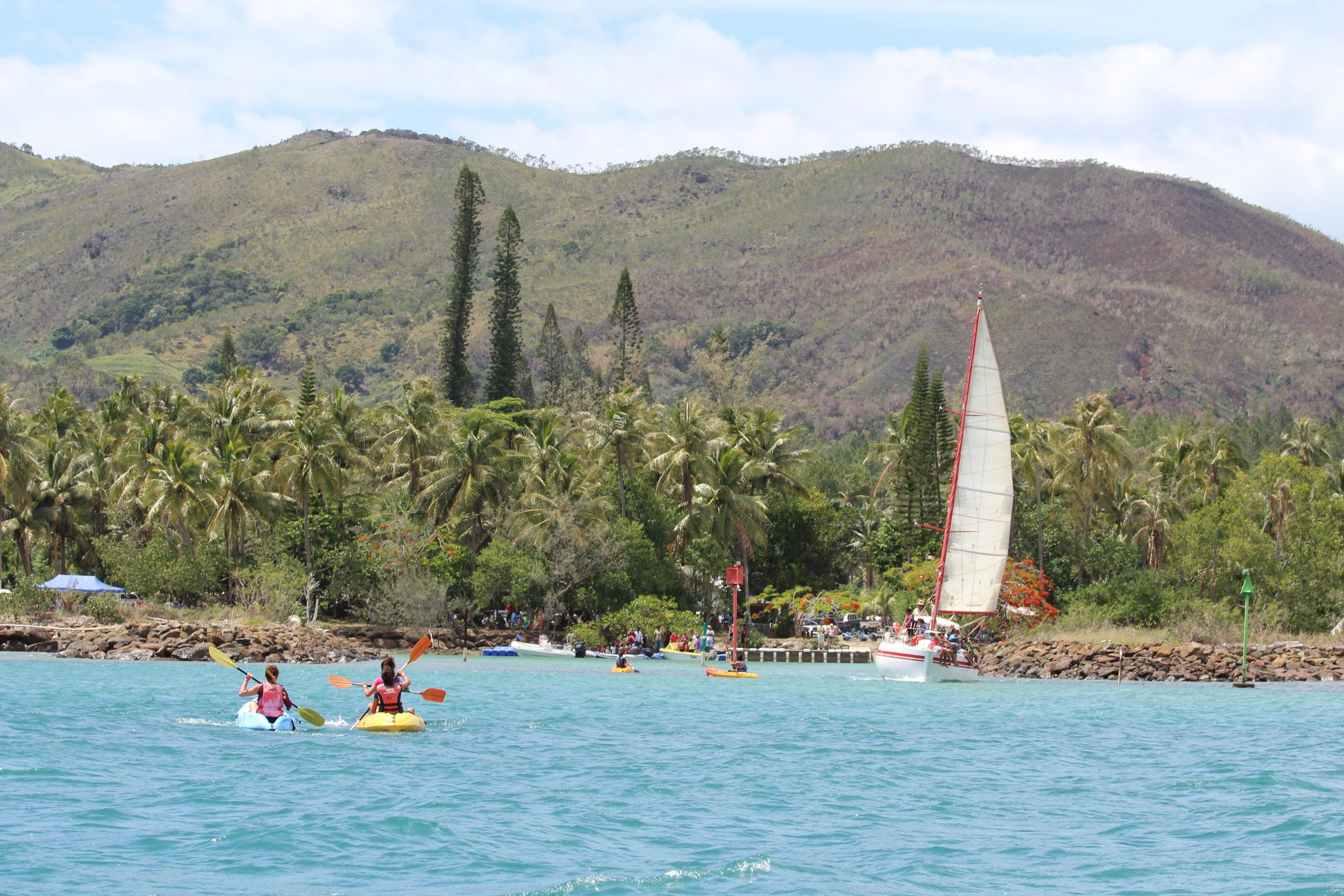 Sortie kayak guidée à l'ilôt Tibarama