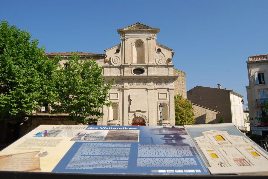 chapelle du couvent des Visitandines (actuellement le cinéma)