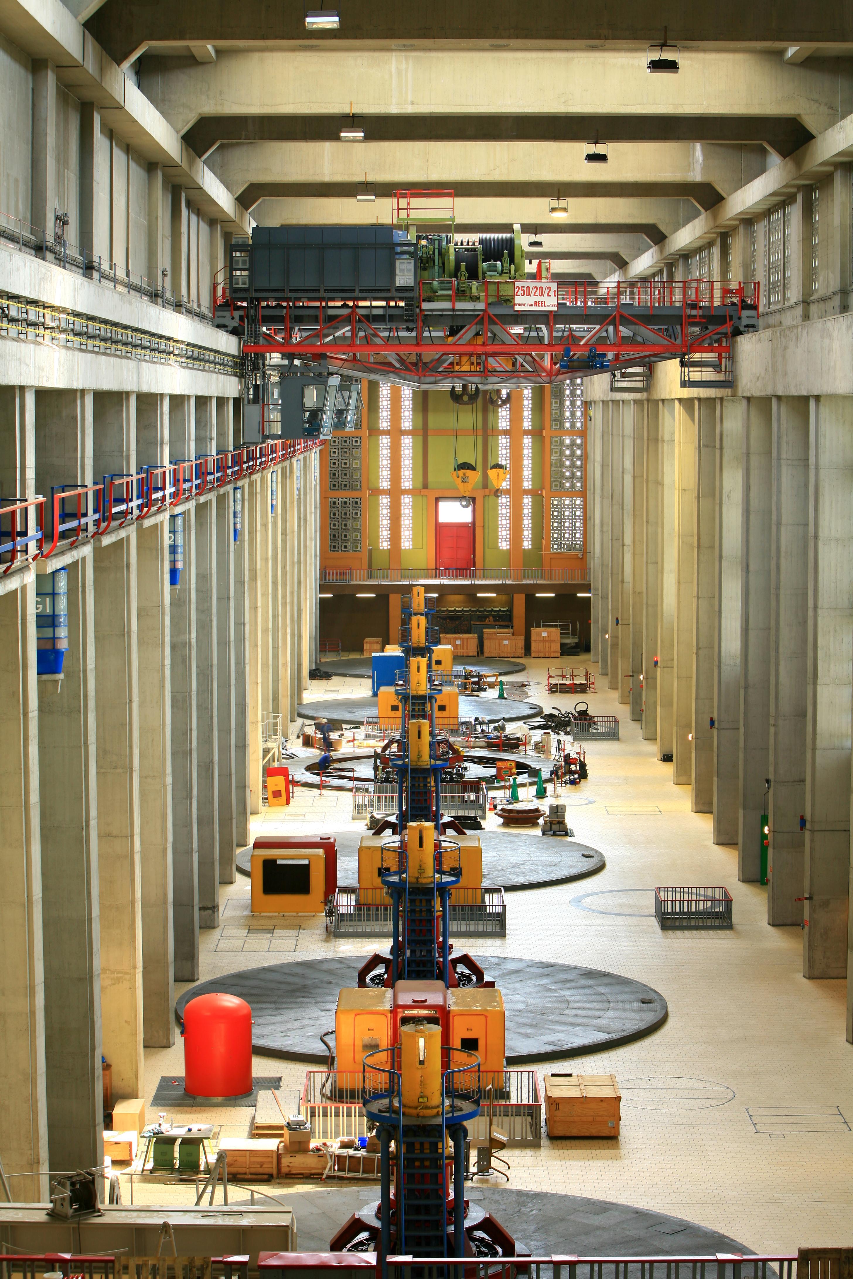 Centrale hydroélectrique André Blondel CNR