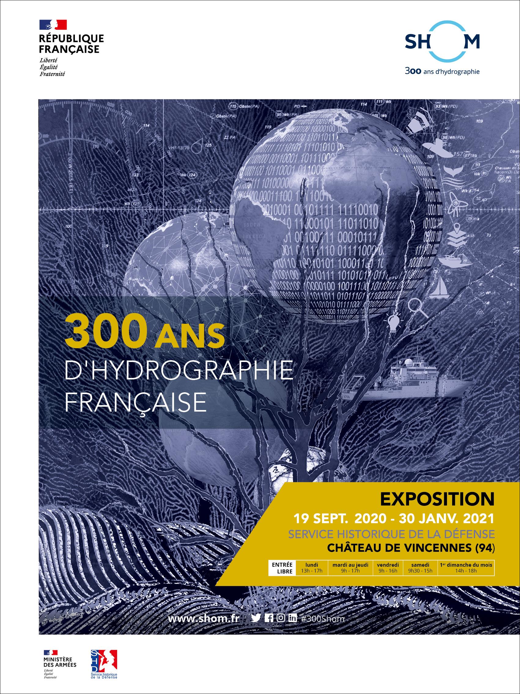 Exposition : 300 ans d'hydrographie française au SHD