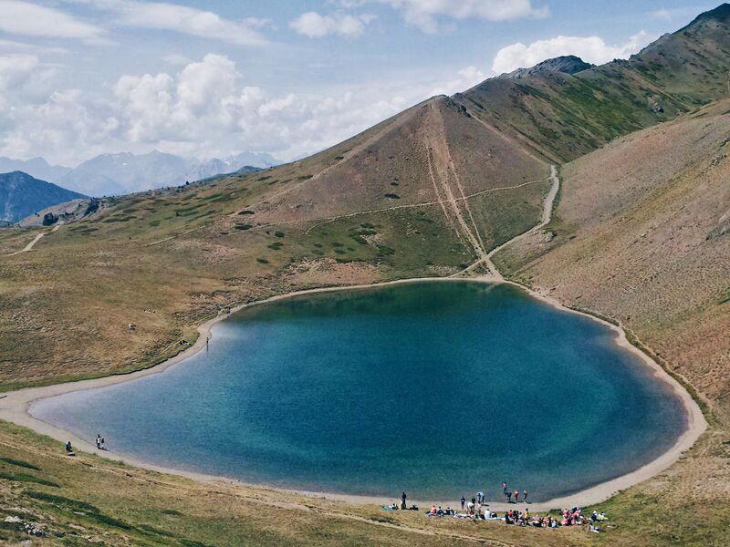 Randonnée - Le Lac Gignoux - Lac des 7 couleurs - Office de Tourisme de Montgenèvre