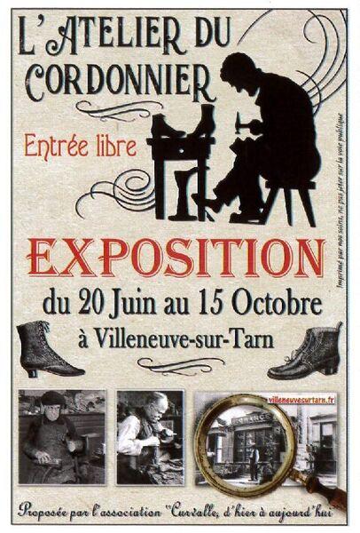Exposition L'Atelier du Cordonnier