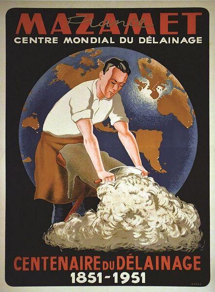 Visite guidée de Mazamet au fil de la laine