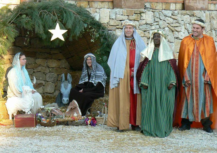 Escolo - living nativity - Corinne Bonifay