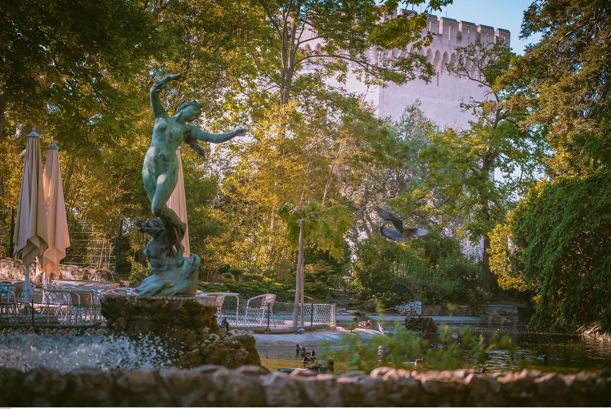 Les Jardins Des Monts D Or doms garden - avignon tourisme - avignon tourisme