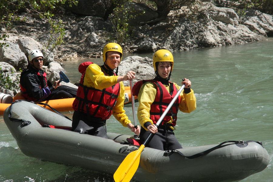 Easy Rafting