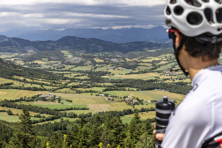 Vélo de route : vallée de la Blanche