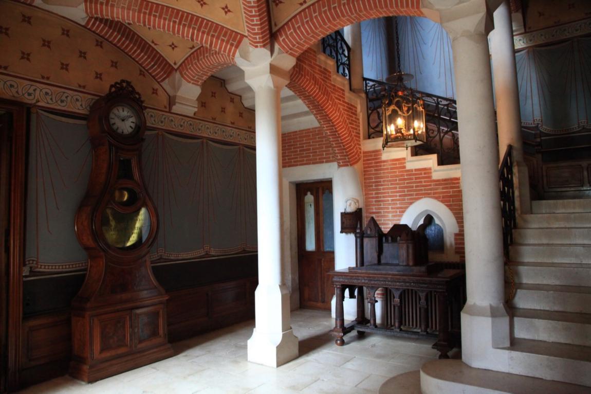 intérieur château Pupetières