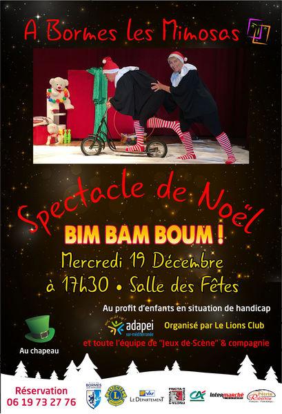 Spectacle de Noël de Bormes-les-Mimosas