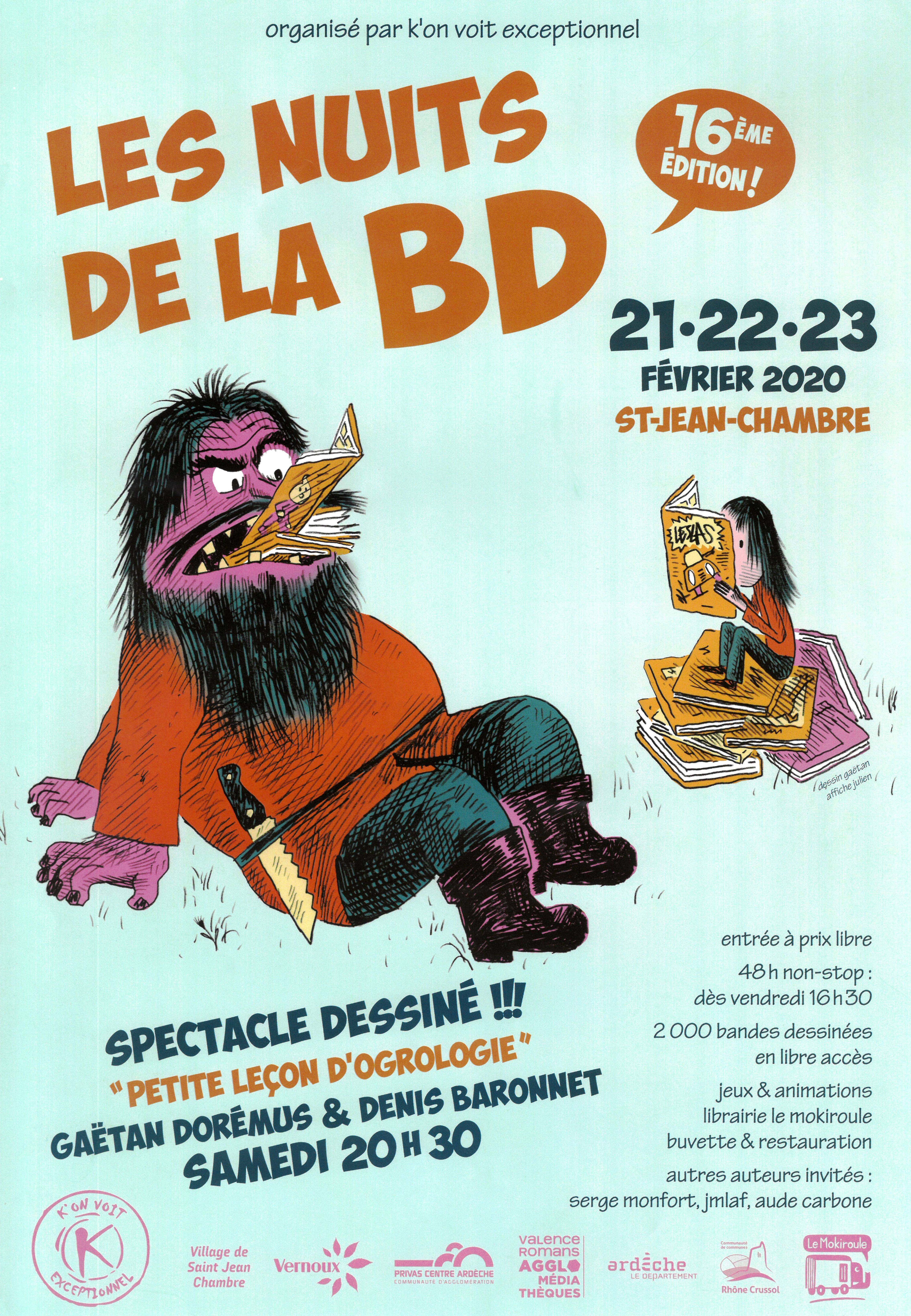 Events…Put it in your diary : Festival Les Nuits de la BD (16ème édition) - jour 1/3