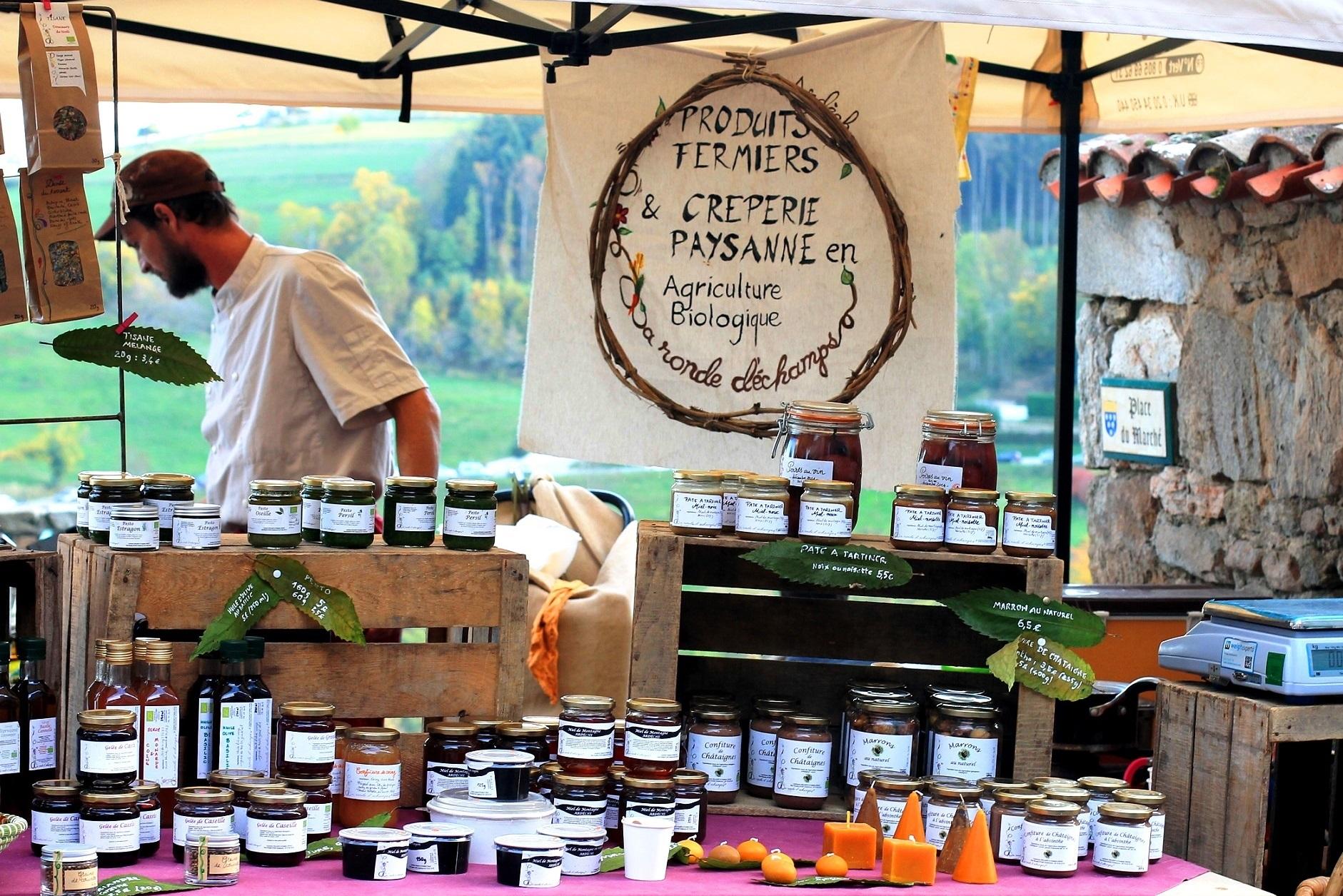 Souvenirs gourmands : Boutique paysanne La Ronde d'échamps