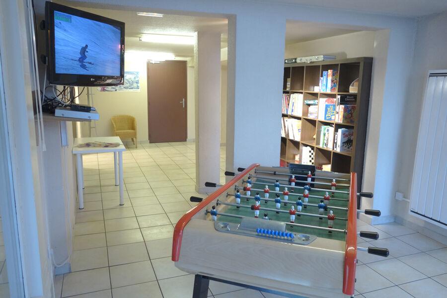 Salle TV et Jeux