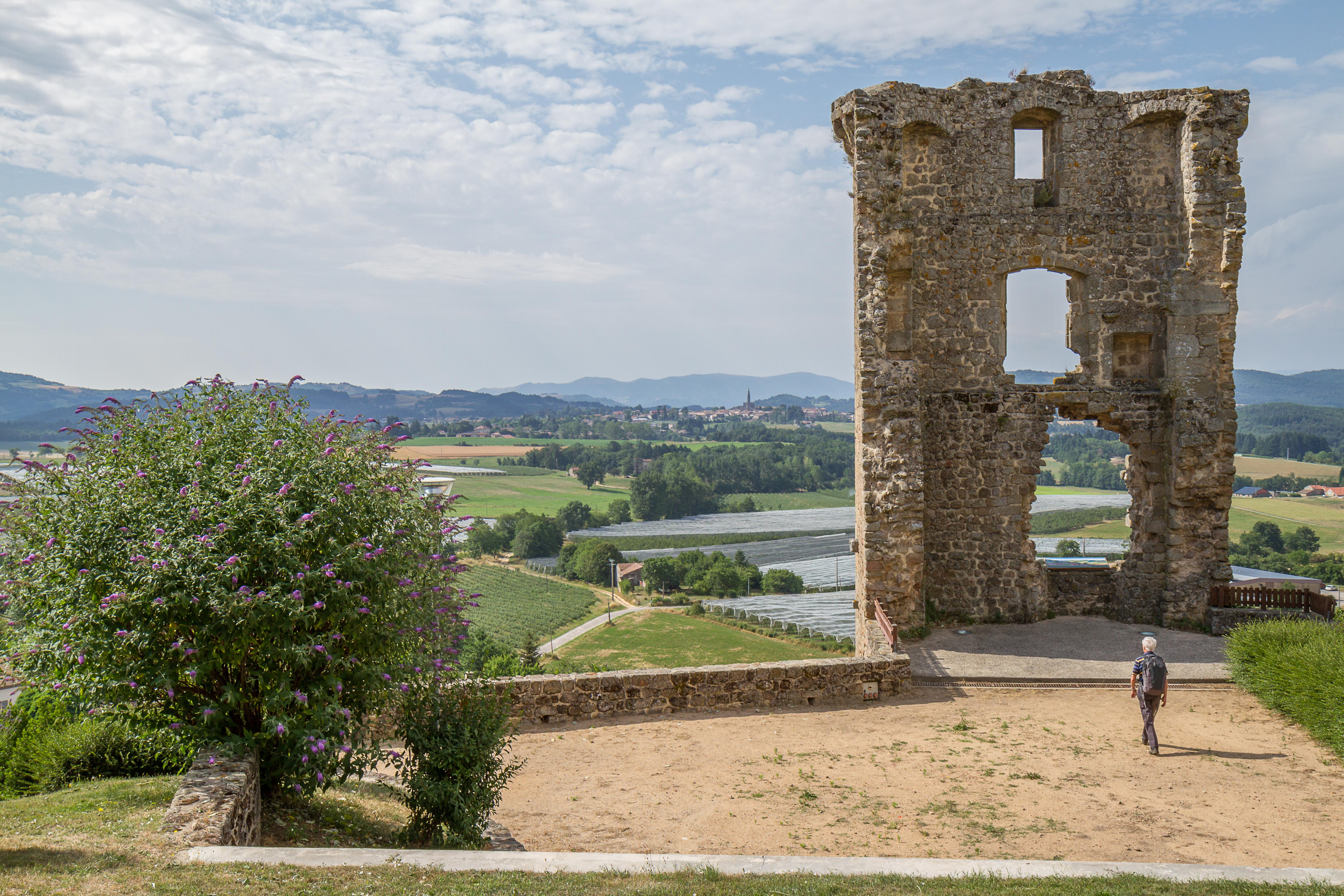 Ga op speurtocht : Tour de Châteauneuf-de-Vernoux (vestiges)