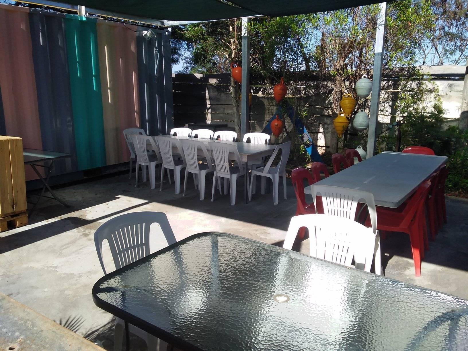 Table d'hôte de Tipenga
