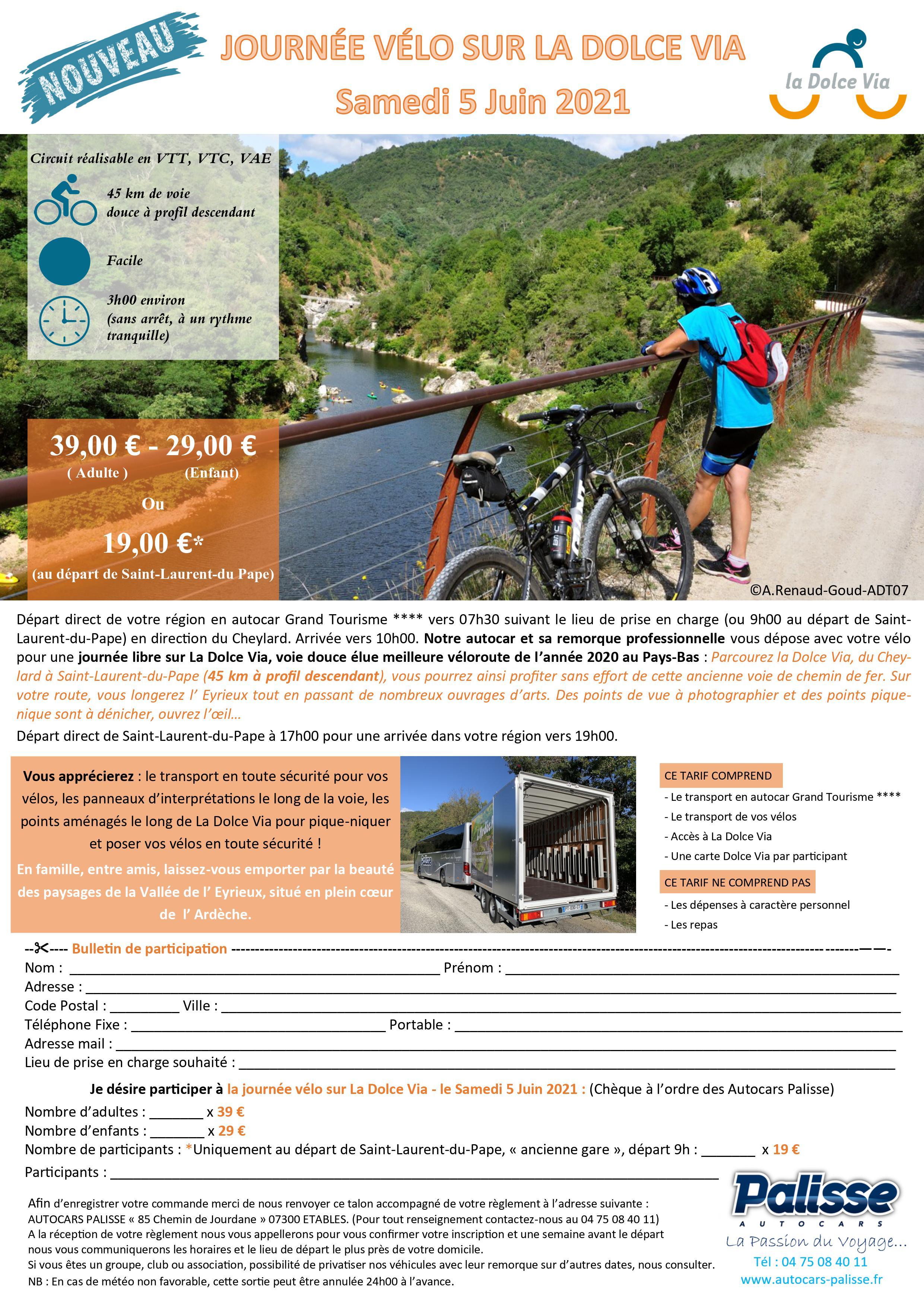 Journée vélo sur la Dolce Via