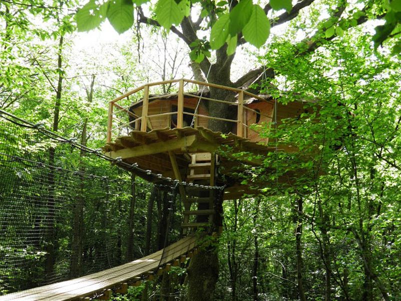 Cabanes de la Tour - Tree houses