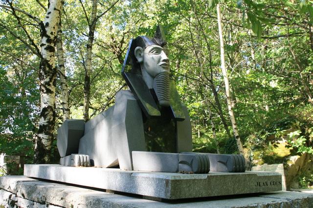 Statue du Sphinx Sidobre_Lacrouzette