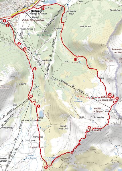 Randonnée - Le Sentier Géologique du Chenaillet - Office de Tourisme de Montgenèvre