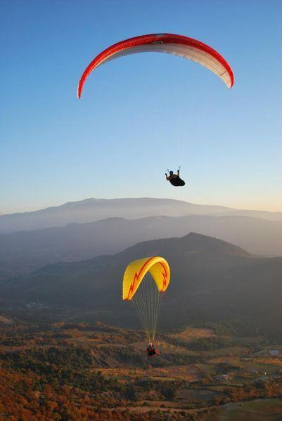 Vol en Parapente avec «Lou Ventoun» Vincent Perlbarg - Nyons