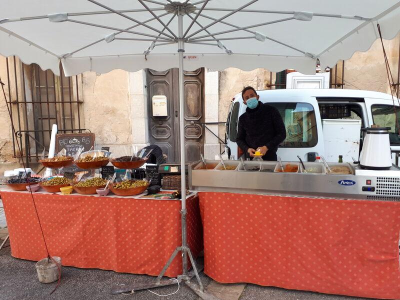 Marché Cadière - Olives & tapenade - Corinne Bonifay
