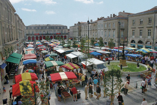 Marché traditionnel de Castres