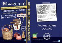 Marché de producteurs et artisans locaux - Salavas