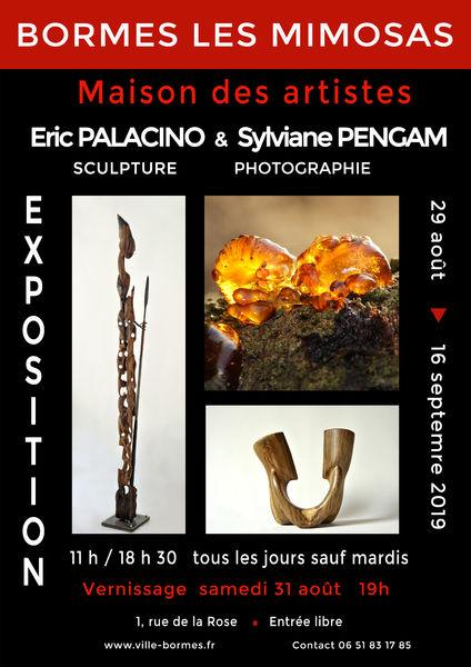 Exposition sculpture et photographies - Palacino et Pangam