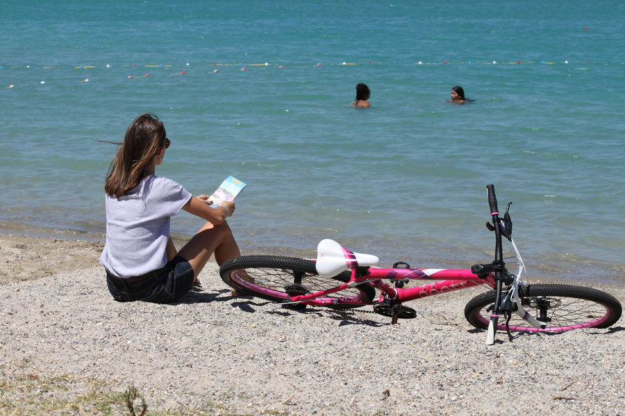 Vélo plan d'eau les Girardes