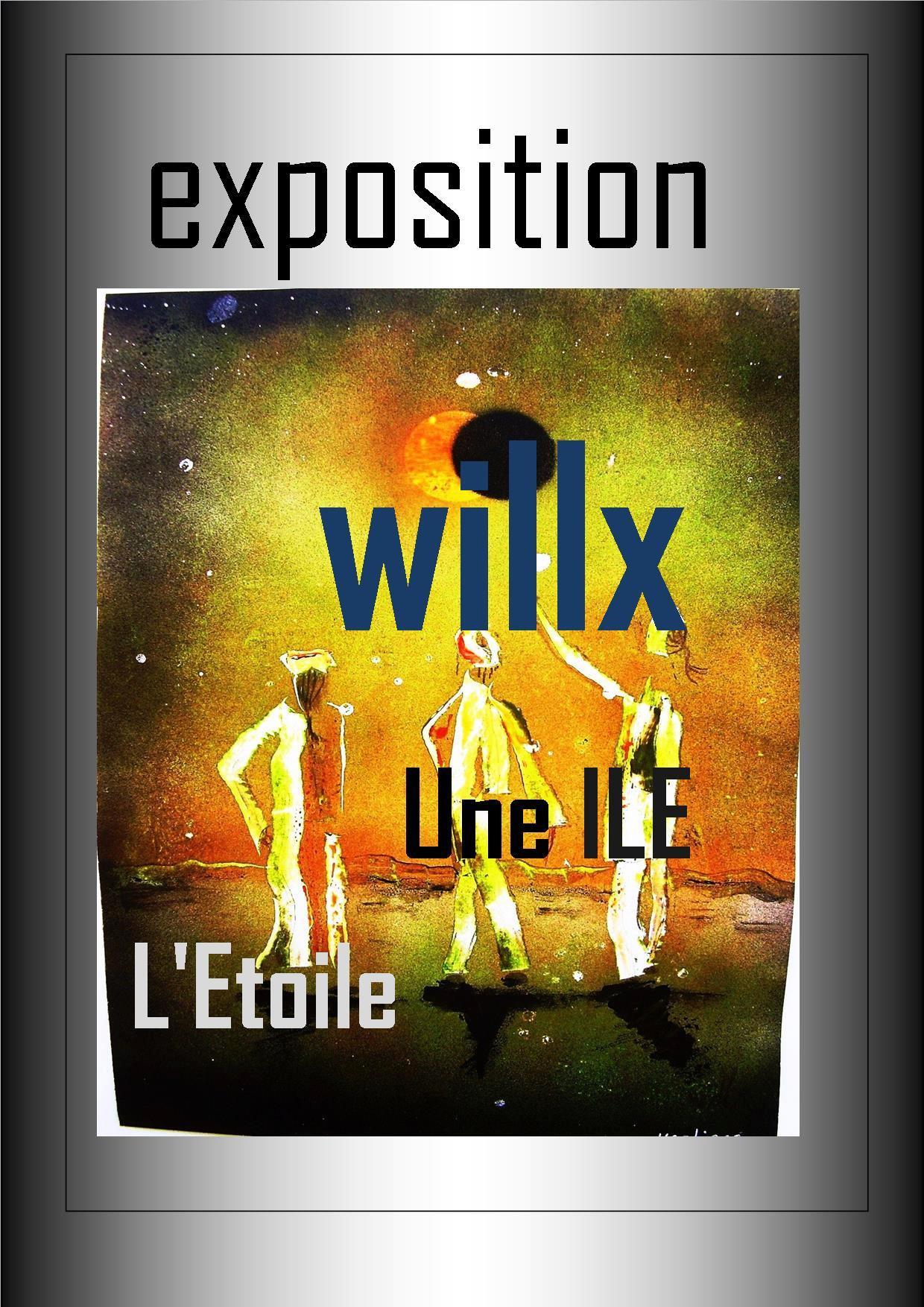 Rendez-vous futés ! : Exposition de peintures de Willx