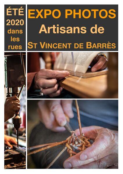 Exposition photos à St Vincent de Barrès