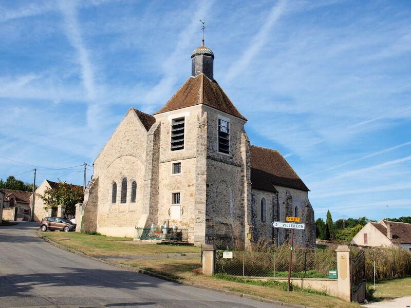 église saint Gengoult Vaux sur Lunain