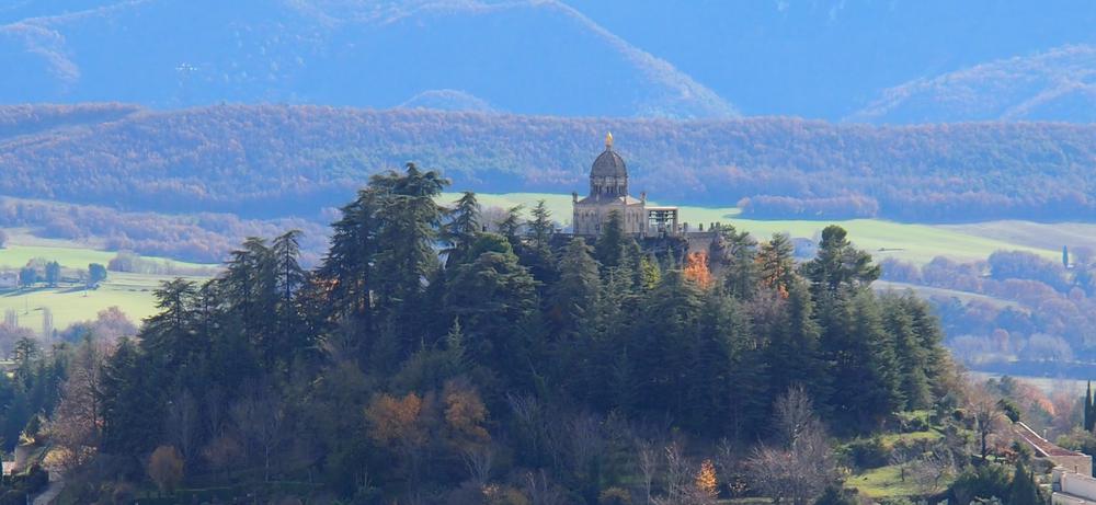 la citadelle de Forcalquier