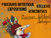 Itinéraire artistique à Antraïgues - Vallées d'Antraigues - Asperjoc