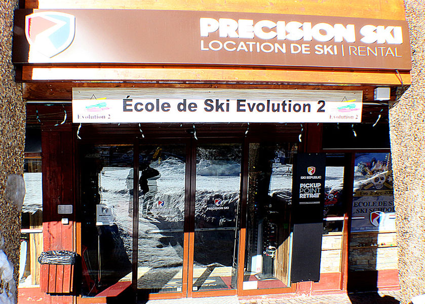 Ecole de ski Evolution 2 Arc 2000
