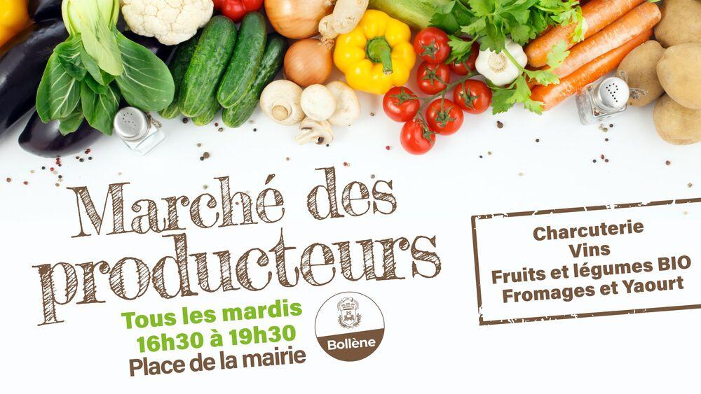 Marché de producteurs locaux - Bollène