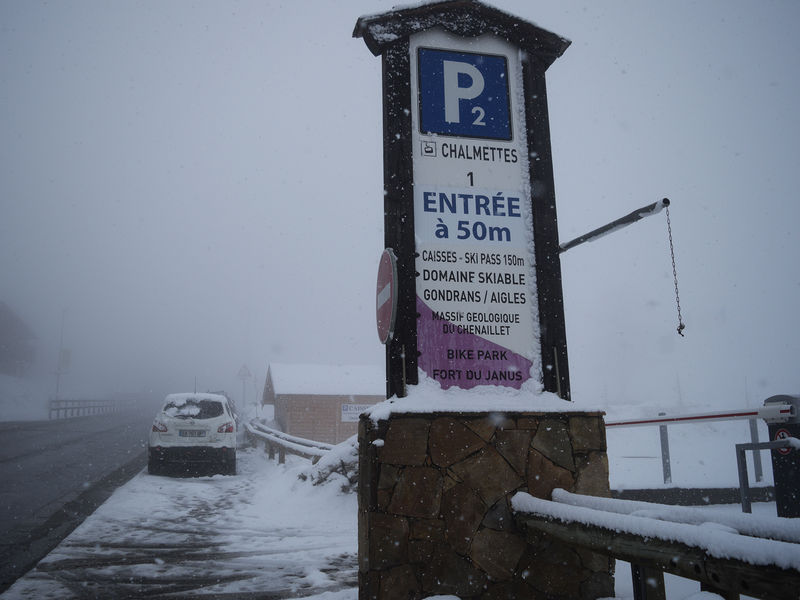 Parking des Chalmettes