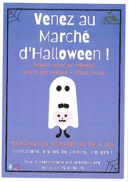 Marché dHalloween!