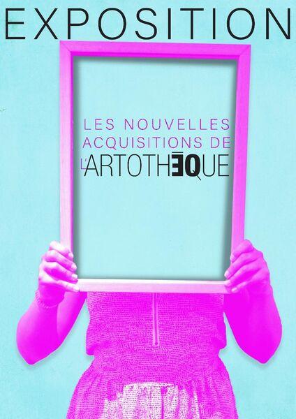 Exposition des nouvelles acquisitions de l'artothèque