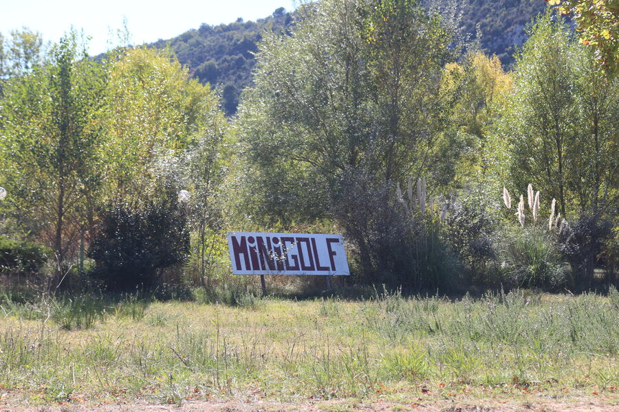 Minigolf 18 trous