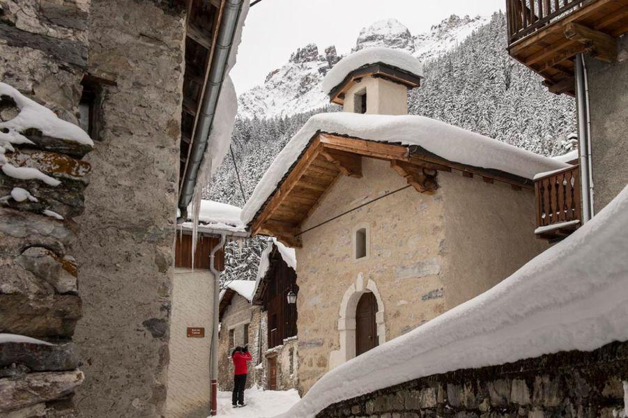 Pralognan-la-Vanoise : village de la Croix
