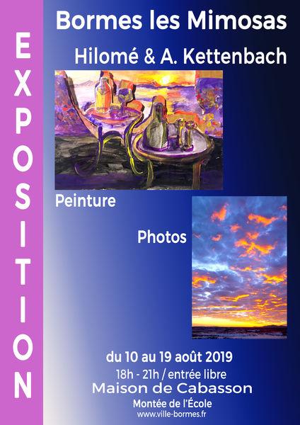 Exposition de photographies et peinture - Kettenbach et Hilome
