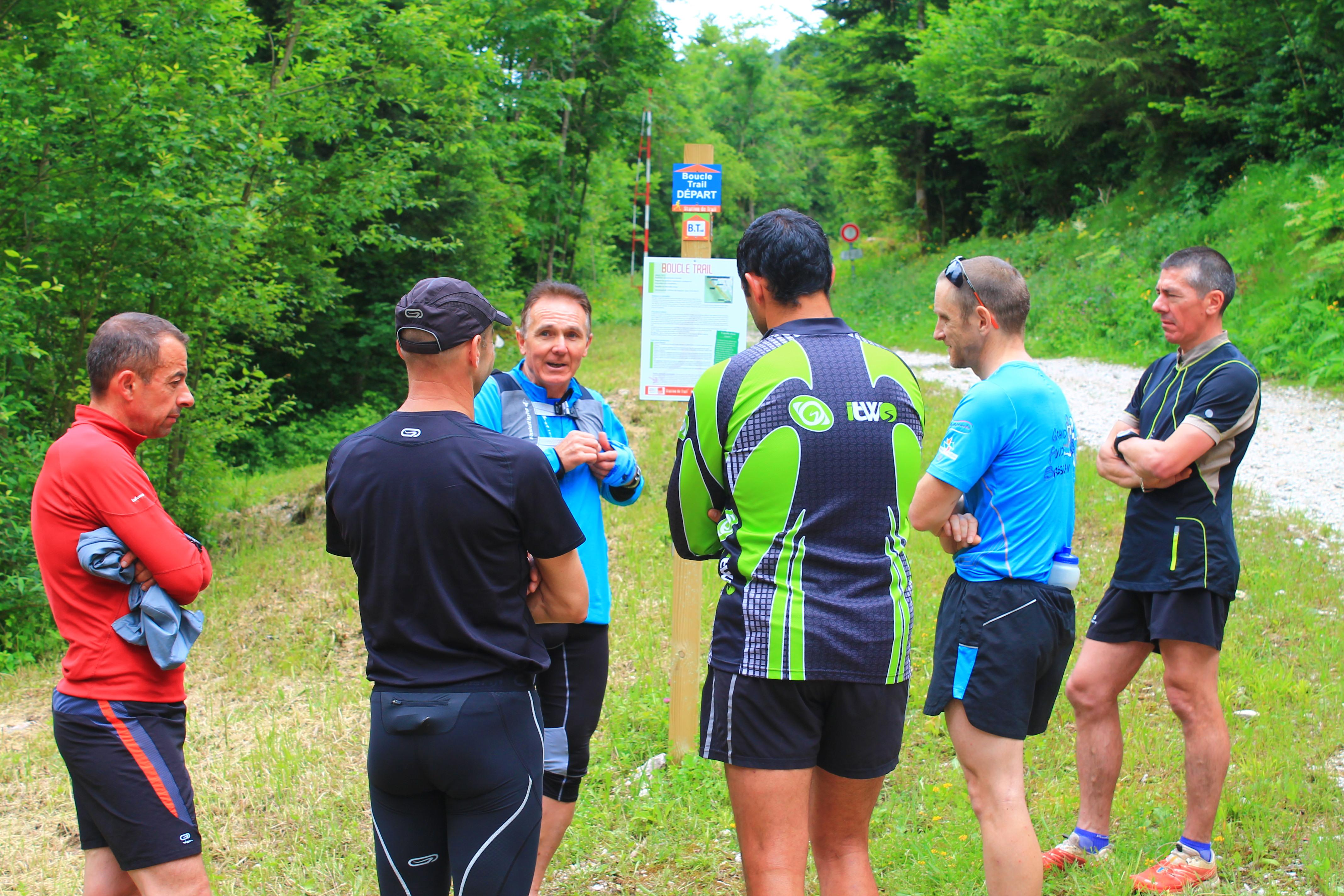 Découverte Station Trail Haut-Bugey