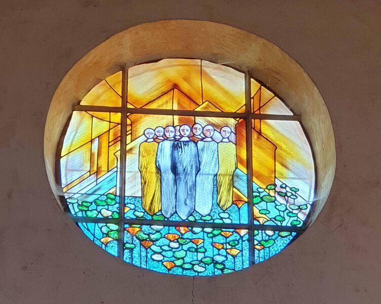 Vitraux église par ASEGC