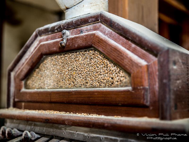 Grain à la minoterie