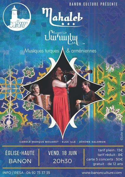Concert Mahaleb