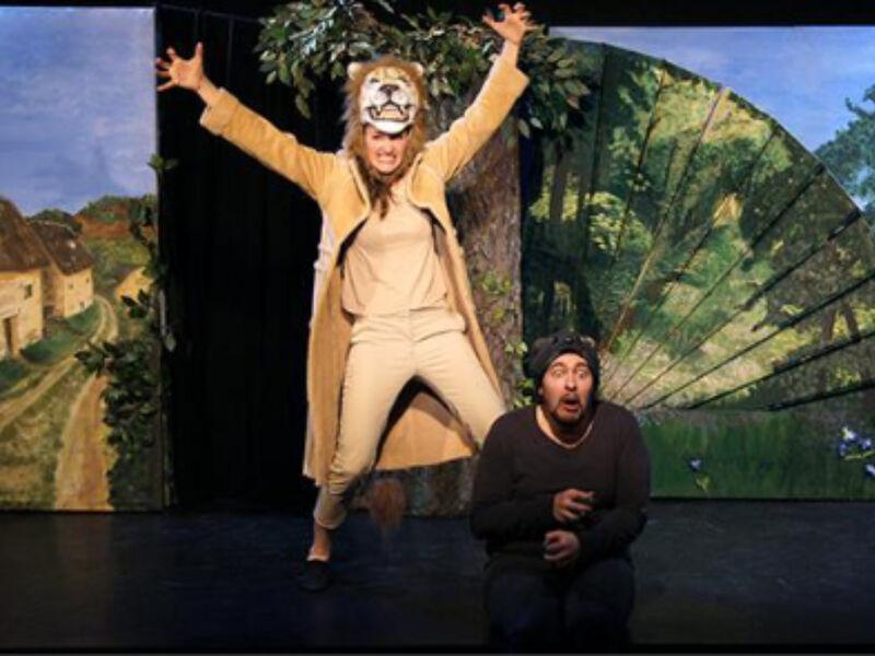 Comédiens sur scène
