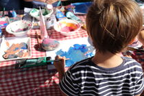 Atelier en famille à Ripaille : tes empreintes végétales