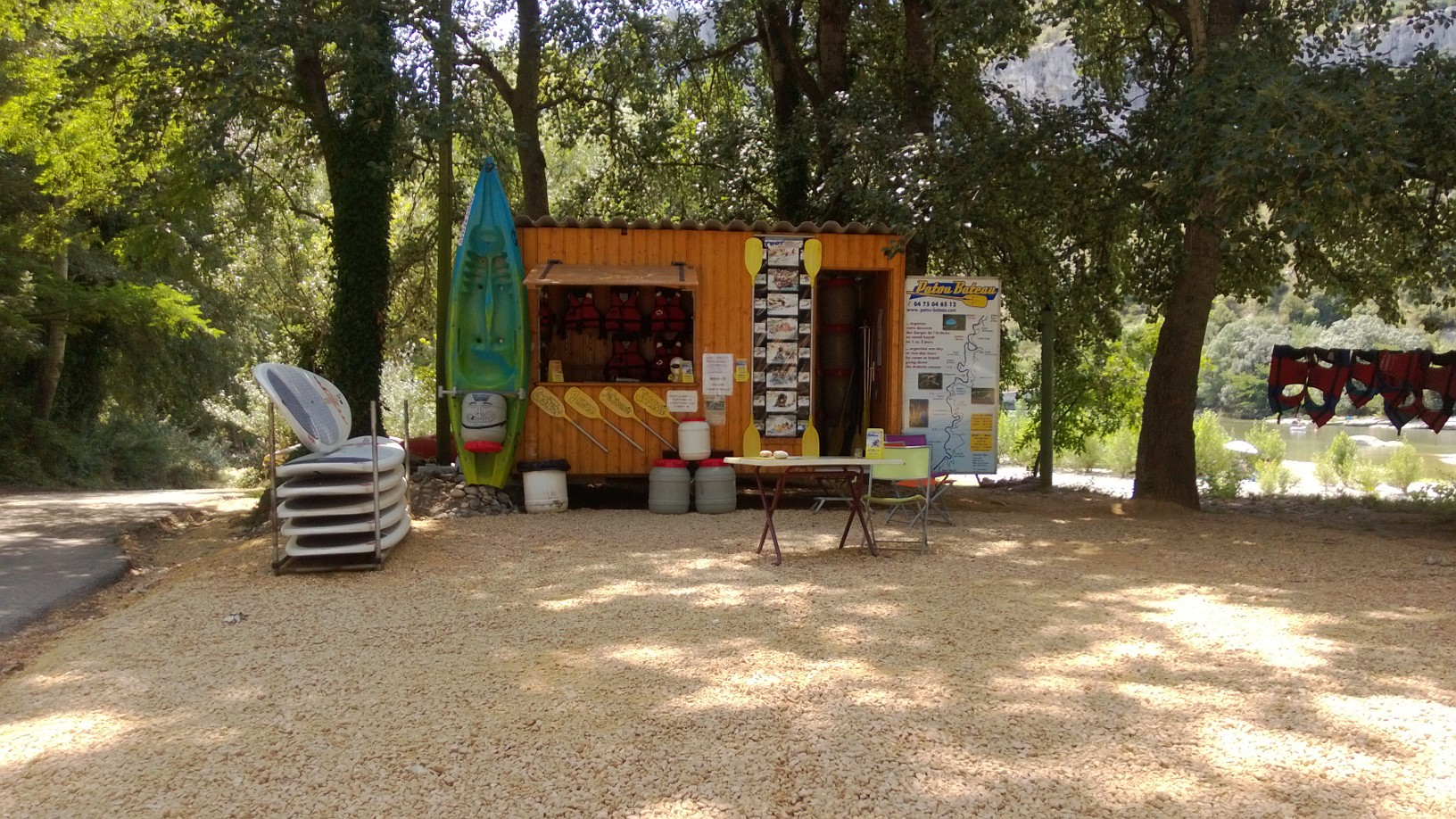 Canoé-Kayak Patou Bateau