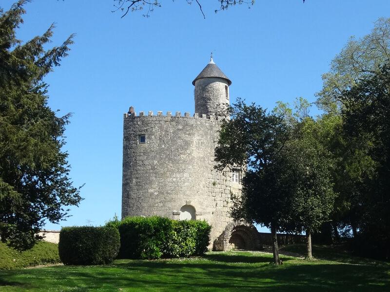 Tour du chateau de Surgères
