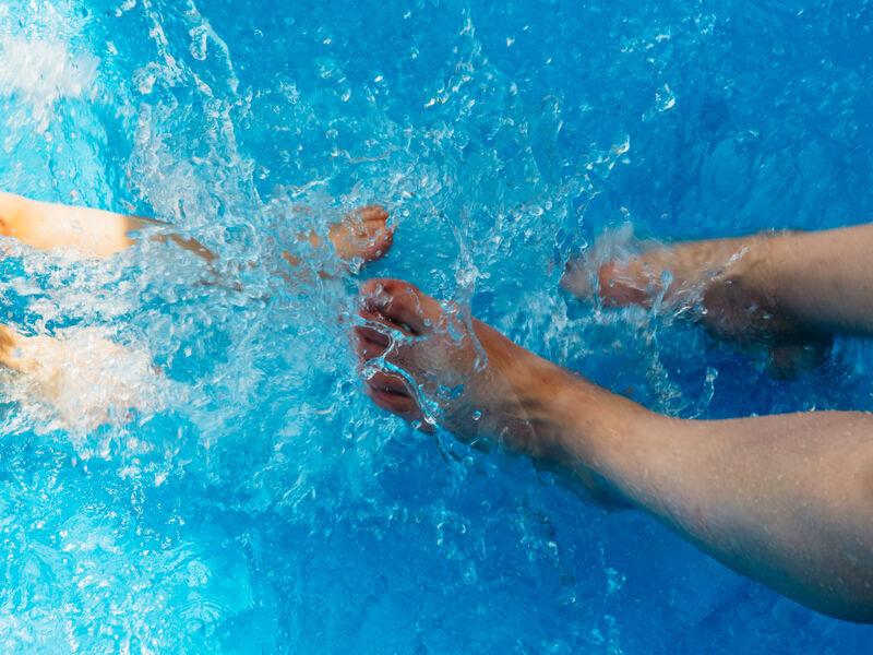 Samuser les pieds dans leau